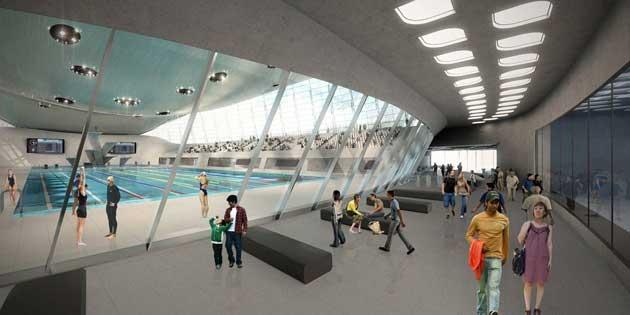 Olimpic Aquatics Centre In London By Zaha Hadid