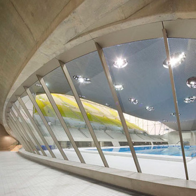 Aquatics Centre Zaha Hadid