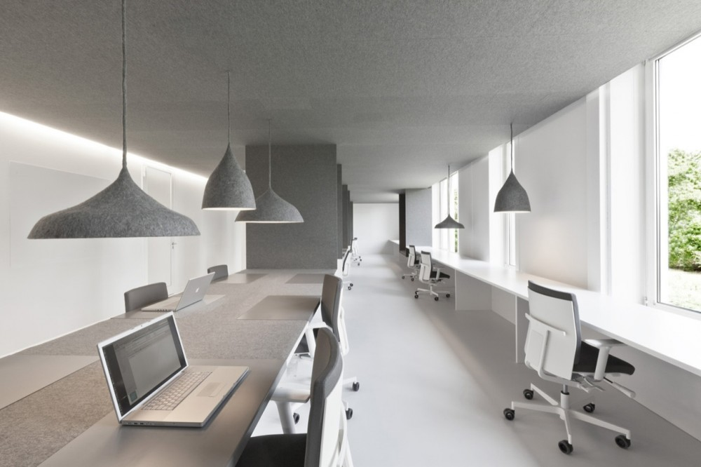 Tribal ddb office by i29 interior architects How many hours do interior designers work