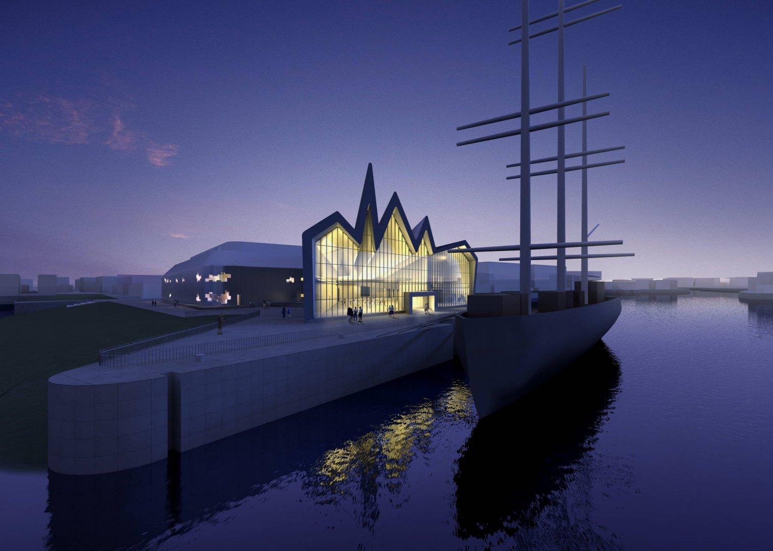 Riverside Museum By Zaha Hadid Architects