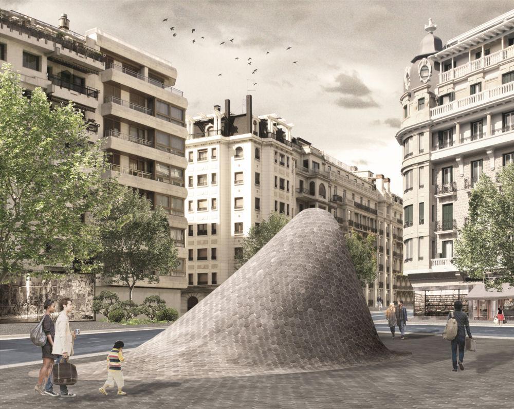 Subway Entrance By Babelstudio
