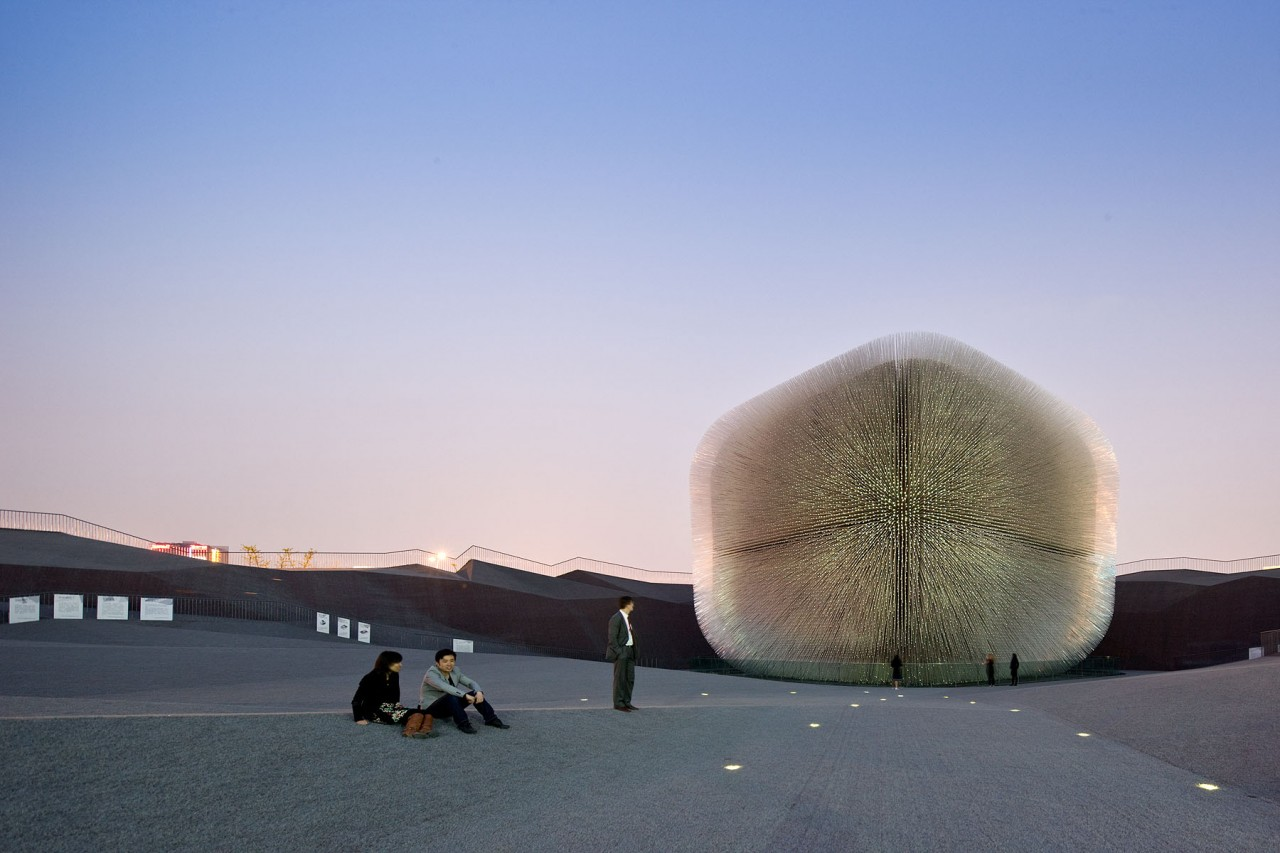 Uk Pavilion Expo By Heatherwick Studio
