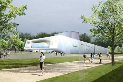 Wolfe Center Collaborative Arts Snohetta