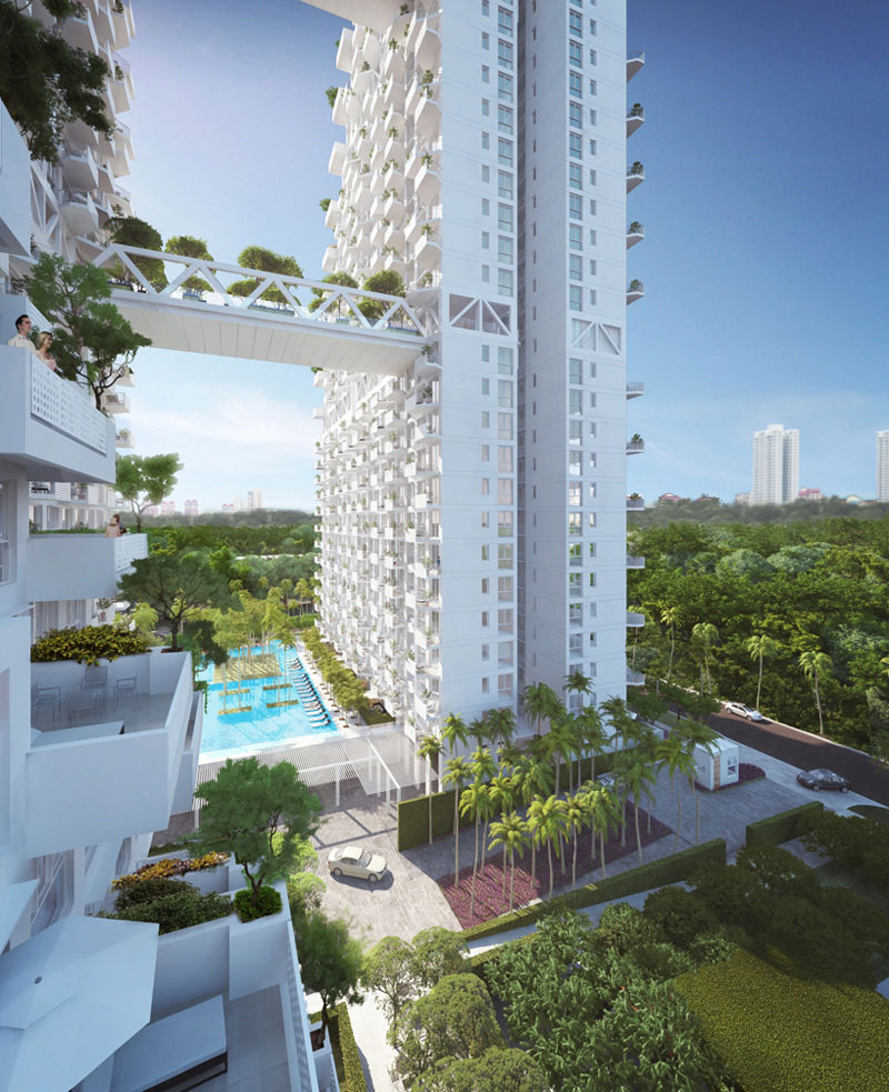 Singapore Condo Interior Design: Bishan Residential By Safdie Architects
