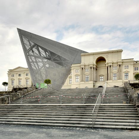 Military History Museum By Studio Daniel Libeskind