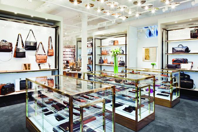 Mulberry boutique by universal design studios for Interior design studio nyc