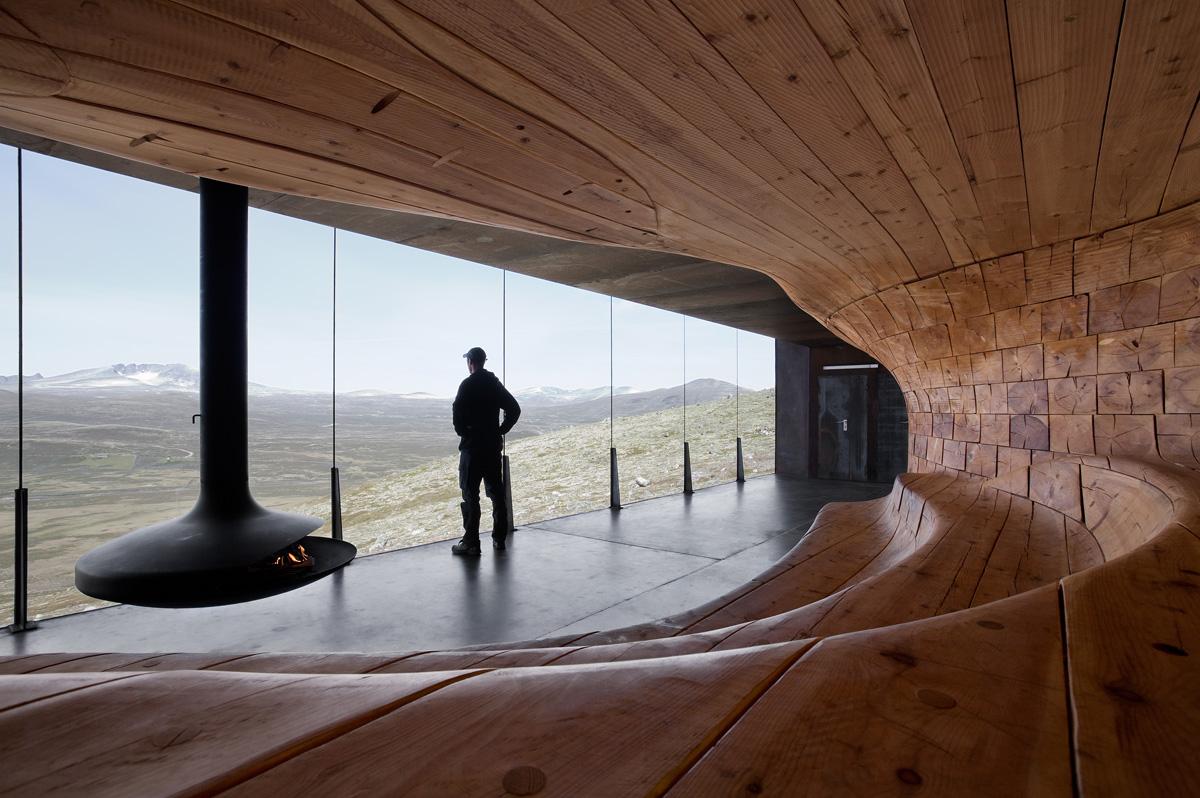 Norwegian Wild Reindeer Pavilion By Snohetta