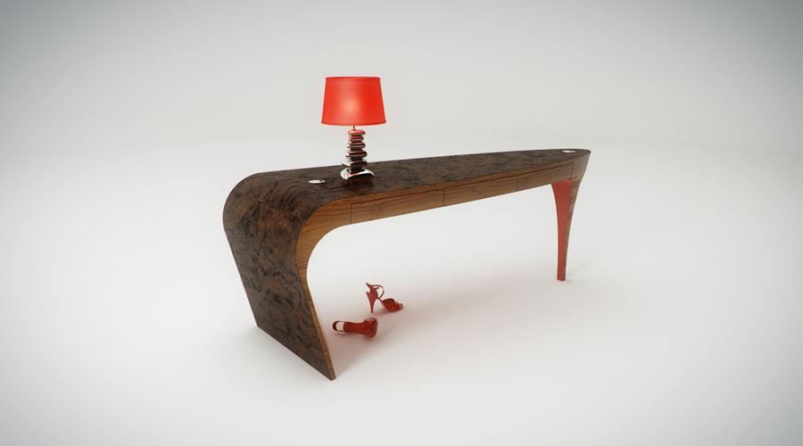 Stiletto Desk By Splinter Works