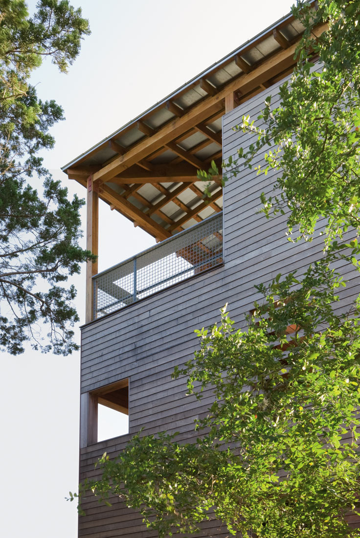 Tower House By Andersson Wise - Tower-house-in-texas-by-andersson-wise-architects