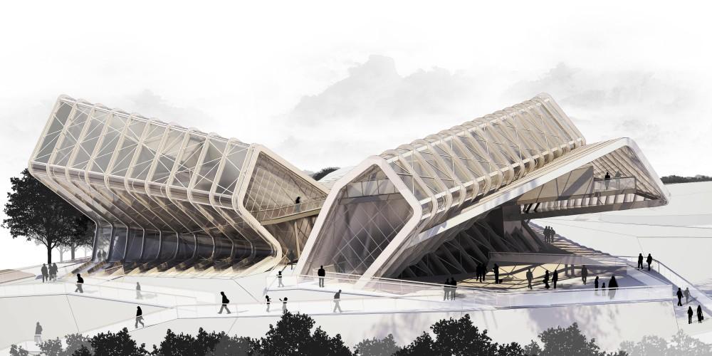 Media Complex By CAAT Studio Architecture