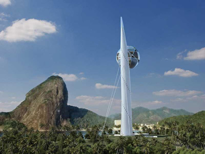 Berimbau Eco-Tower