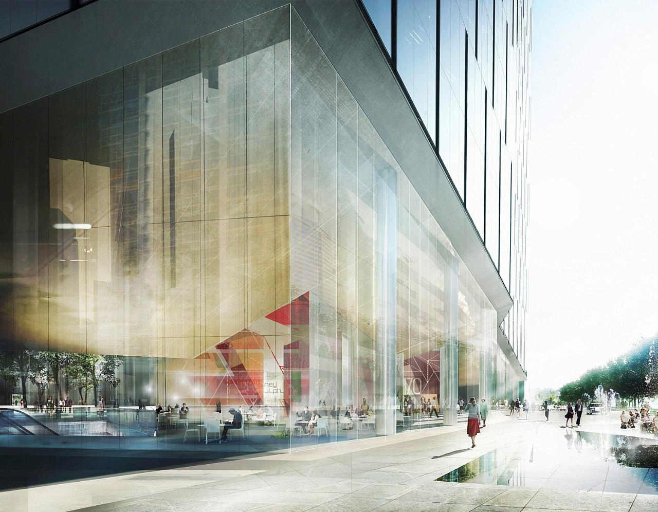 Office Tower Warsaw By Schmidt Hammer Lassen Architects