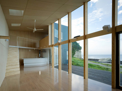 Seaside Boomerang Haretoke Architects