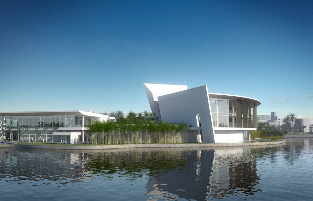 Shenzhen clubhouse by richard meier architects for Clubhouse architecture design