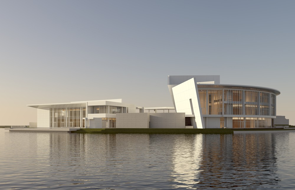Shenzhen Clubhouse By Richard Meier Architects