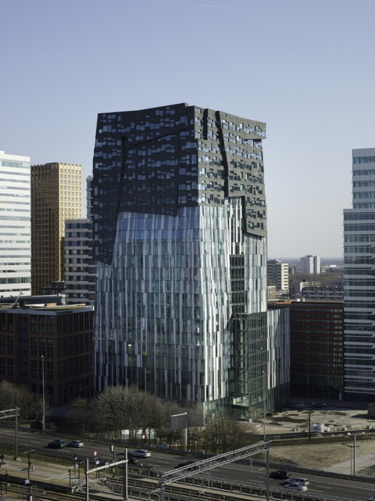 Erick van egeraat office tower for Architecture firm amsterdam