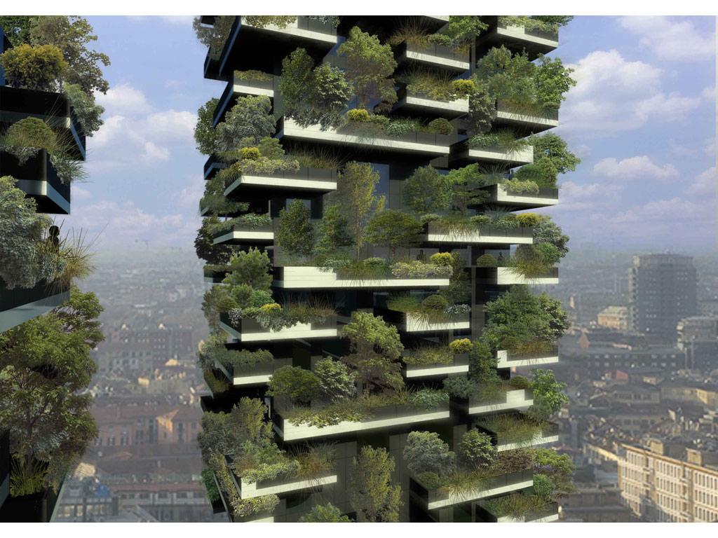 bosco verticale by stefano boeri architetti. Black Bedroom Furniture Sets. Home Design Ideas