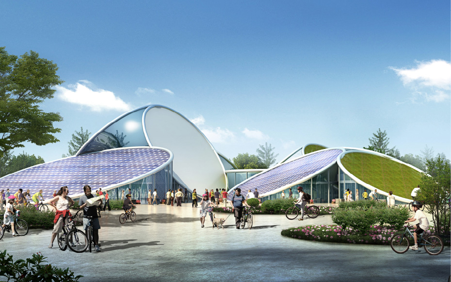 The Chongming Bicycle Park By Jds