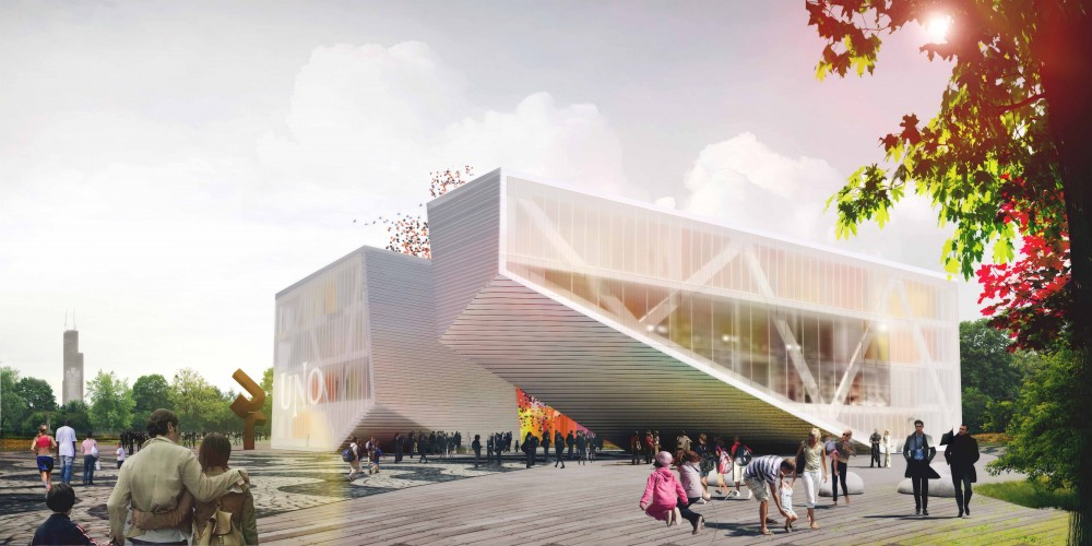 Uno charter school proposal by stl architects for Stl architects