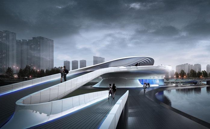 Wuxi Xidong Park Bridge By L Amp A Design Group