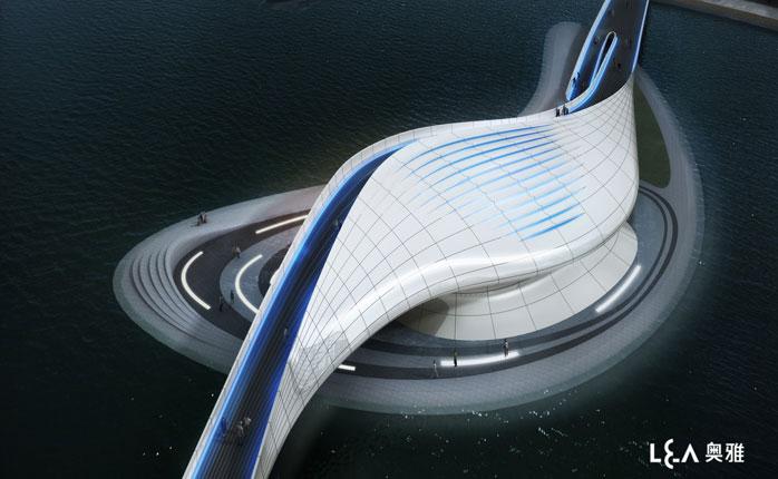 Wuxi Xidong Park Bridge by L&A Design Group Варламов