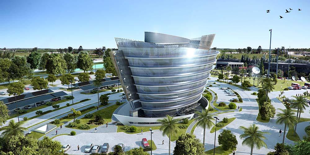 Celebra Offices Tower By Carlos Ott