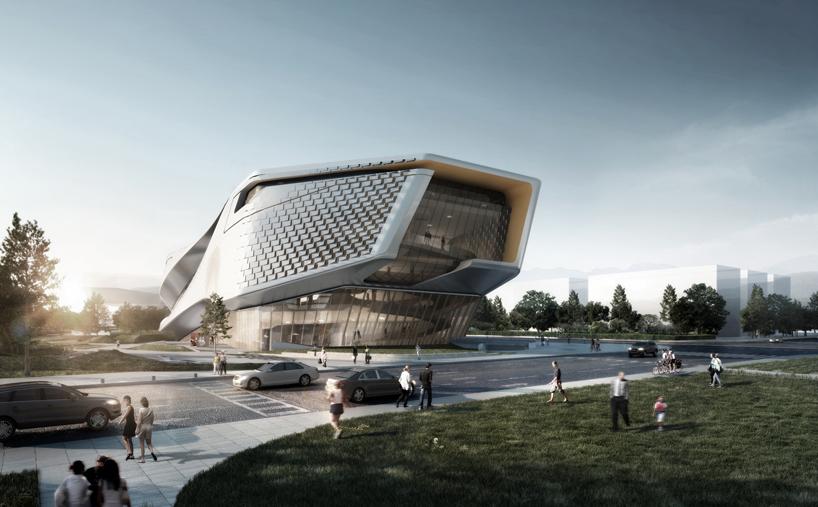Dalian museum competition design by 10 design for Architectural design concepts las vegas