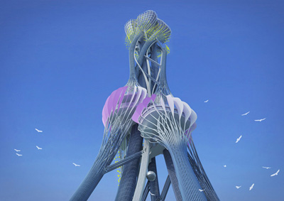 Fibrous Tower
