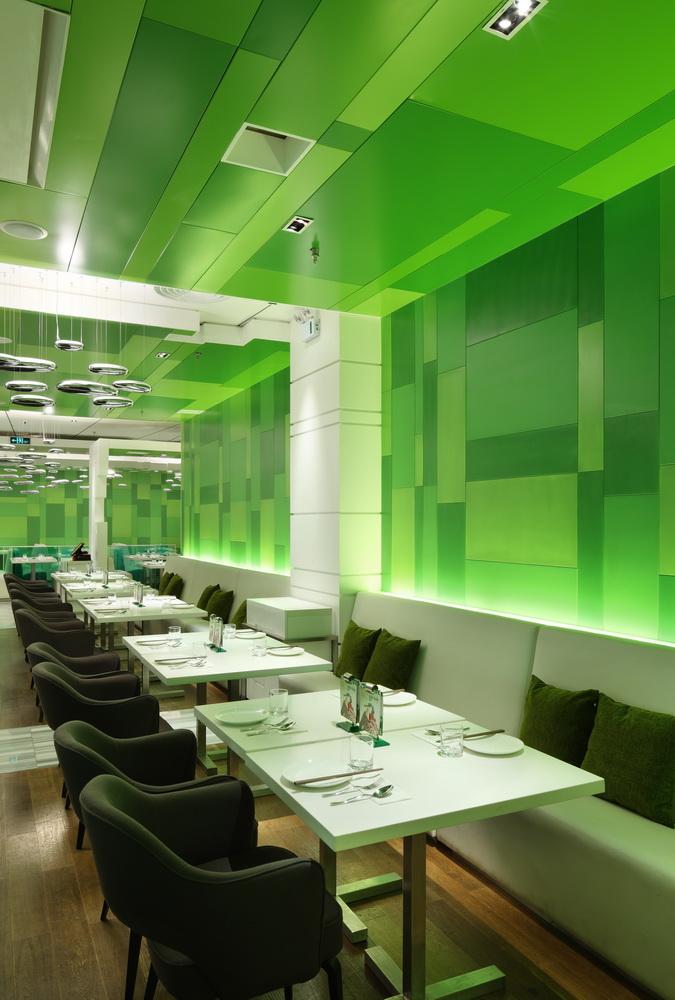 P s restaurant by golucci international design