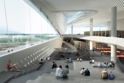 Dalian Library 10Design