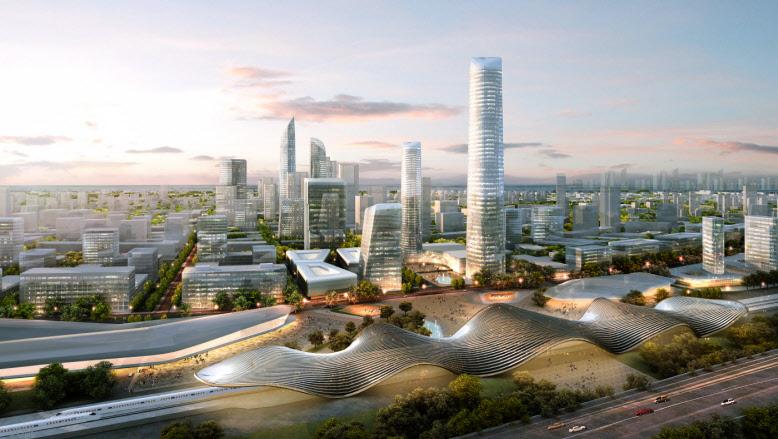Beijing Bohai Innovation City By Skidmore Owings Amp Merrill