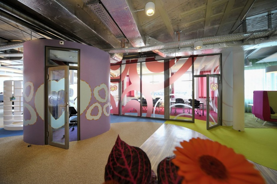 Unilever office by camenzind evolution for Interior companies london