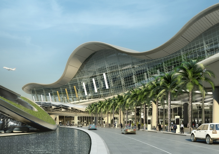 Abu dhabi international airport by kpf for Hispano international decor abu dhabi