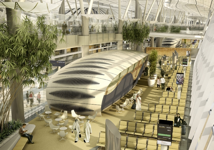 Abu dhabi international airport by kpf for International decor company abu dhabi
