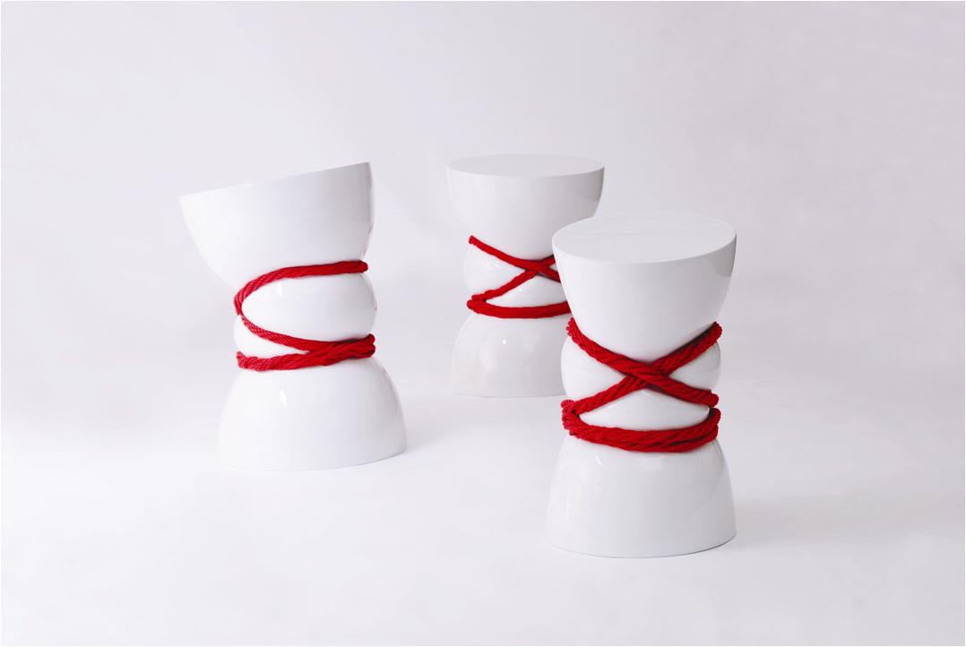 Bind Stool By Ji Hyun Kim