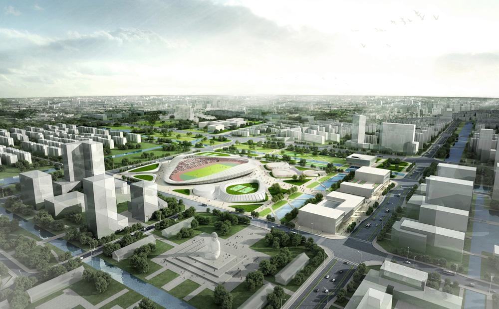 The Nantong Sports Center By Henn