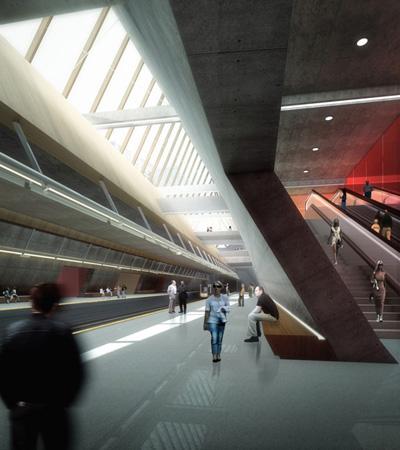 Metropolitan Station 20