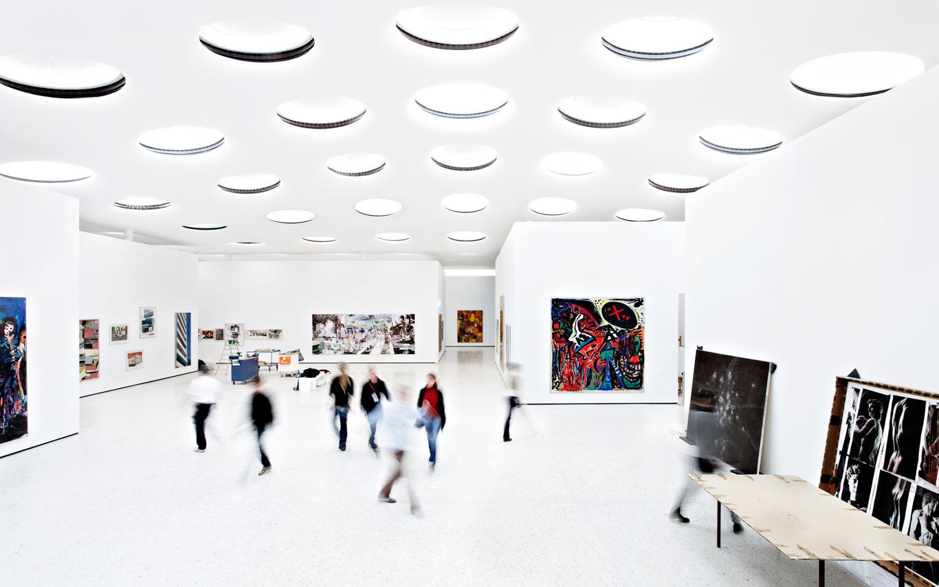 Schneider Schumacher stä museum s contemporary wing by schneider schumacher
