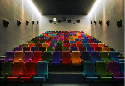 Rainbow Interior Dublin Light House Cinema