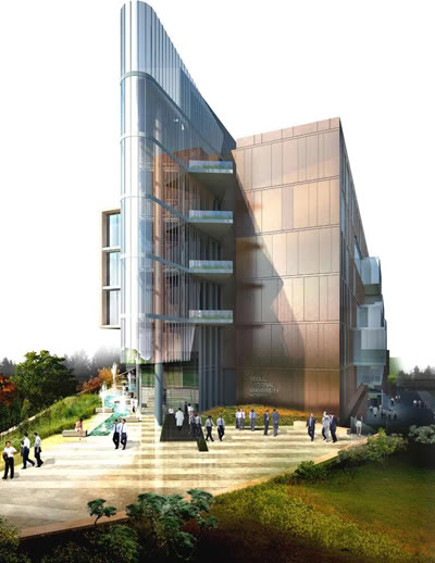 Seoul National University Hospital by HDR Architecture