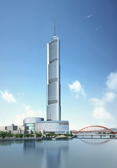 Busan Lotte Town Tower By Skidmore Owings Amp Merrill