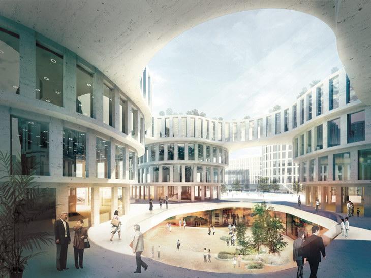 Mvrdv  Hongqiao Cbd Construction Start