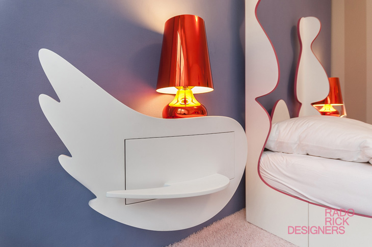 Kids cribs by rado rick designers - Interieur design loft futuriste rado rick ...