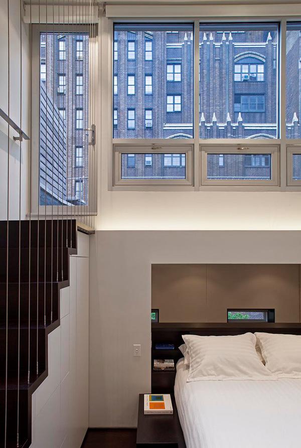 Manhattan micro loft by specht harpman architects - Location loft new york manhattan ...