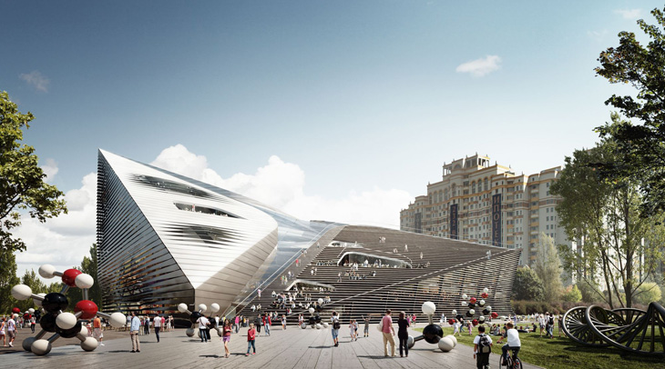 Moscow Museum 3XN