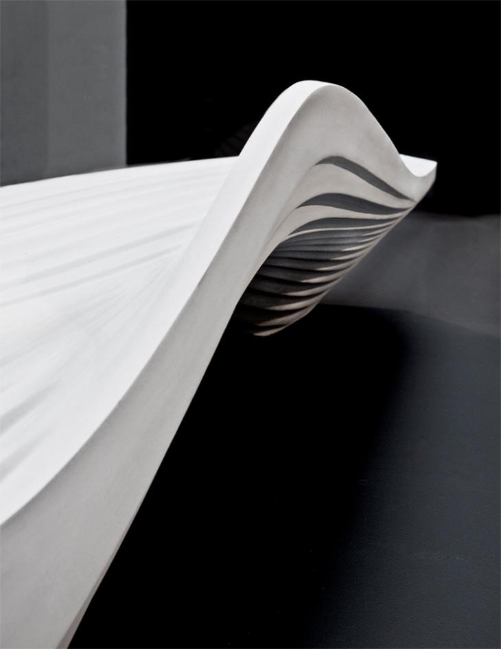 Serac Bench By Zaha Hadid For LAB 23