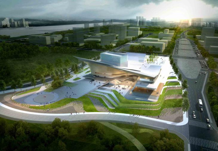 Sejong Art Center By Dmp Partners