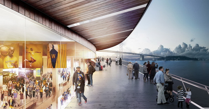 Golden Warriors Arena Snøhetta