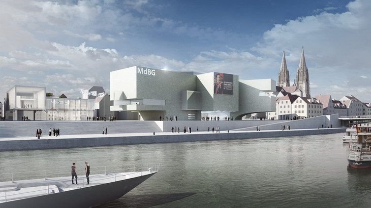 Museum of bavarian history by hans hollein partner for Designhotel regensburg