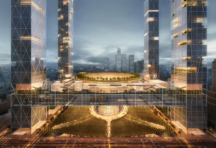 New Penn Station And The Next Madison Square Garden By SOM